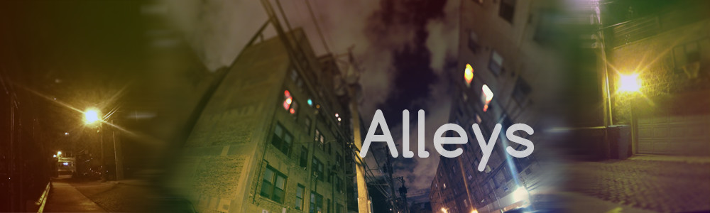 Alleys - Urban ambience sound effects