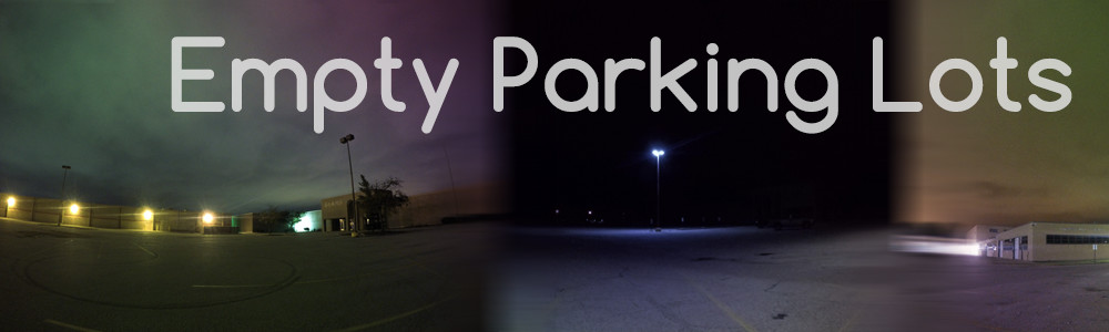 Empty Parking Lots - Urban ambience sound effects