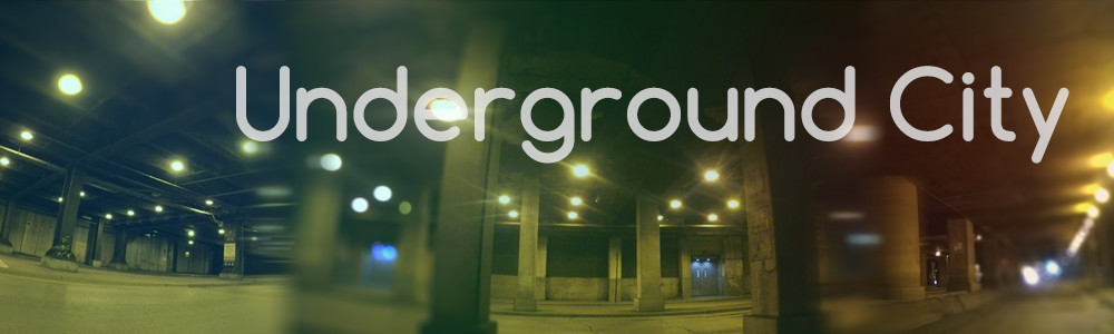 Underground City - Urban ambience sound effects