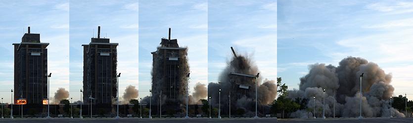 Bank Implosion Progression